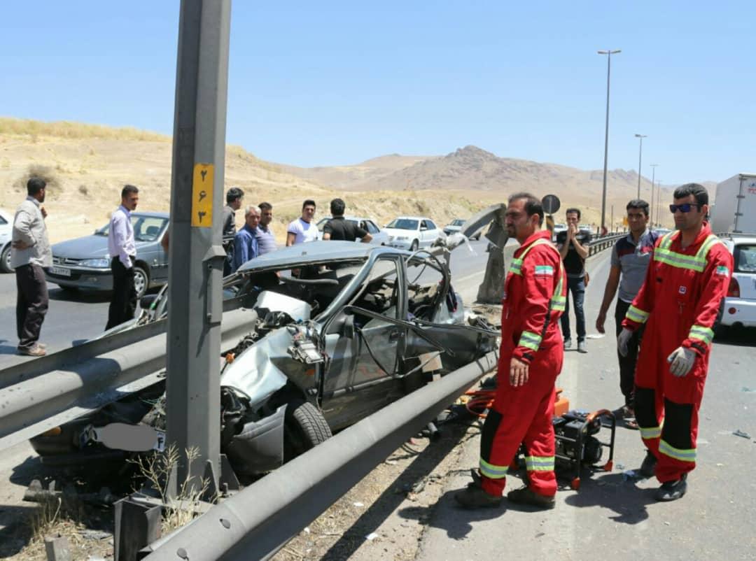 شش کشته و زخمی در تصادف ارابه مرگ