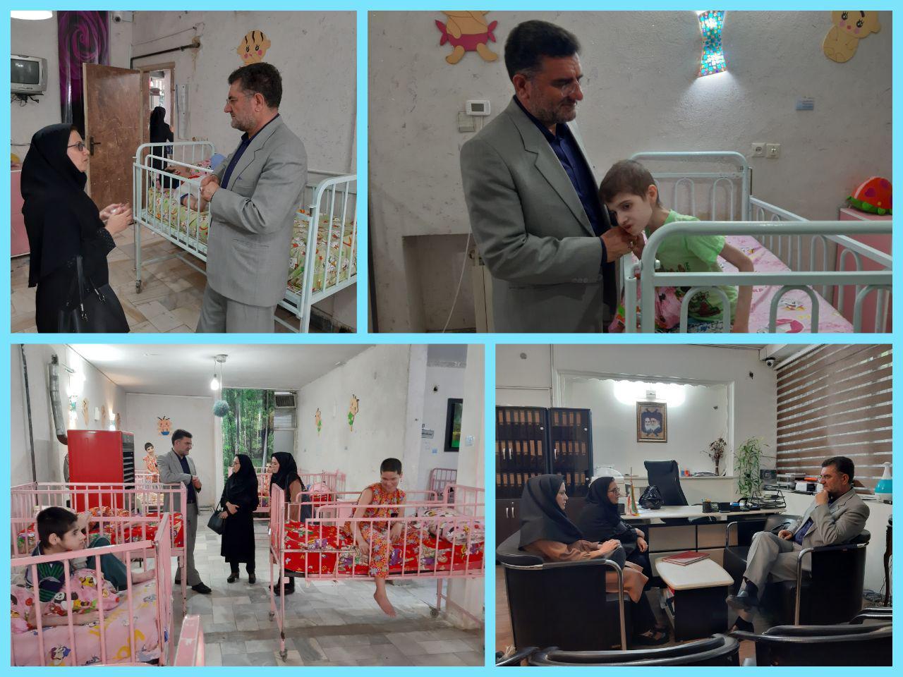 لزوم استفاده از ظرفیت خیرین در مرکز توانبخشی و نگهداری معلولین خرمآباد