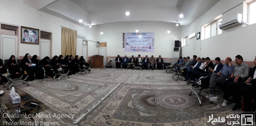 گزارش تصویری: دیدار نماینده ولی فقیه در استان لرستان با اصحاب رسانه