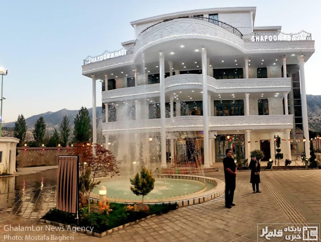 افتتاح رسمی هتل ۵ ستاره شاپورخواست + تصاویر
