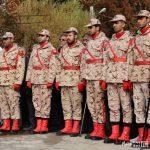 گزارش تصویری: پیکر شهید مدافع حرم در خرمآباد تشییع شد