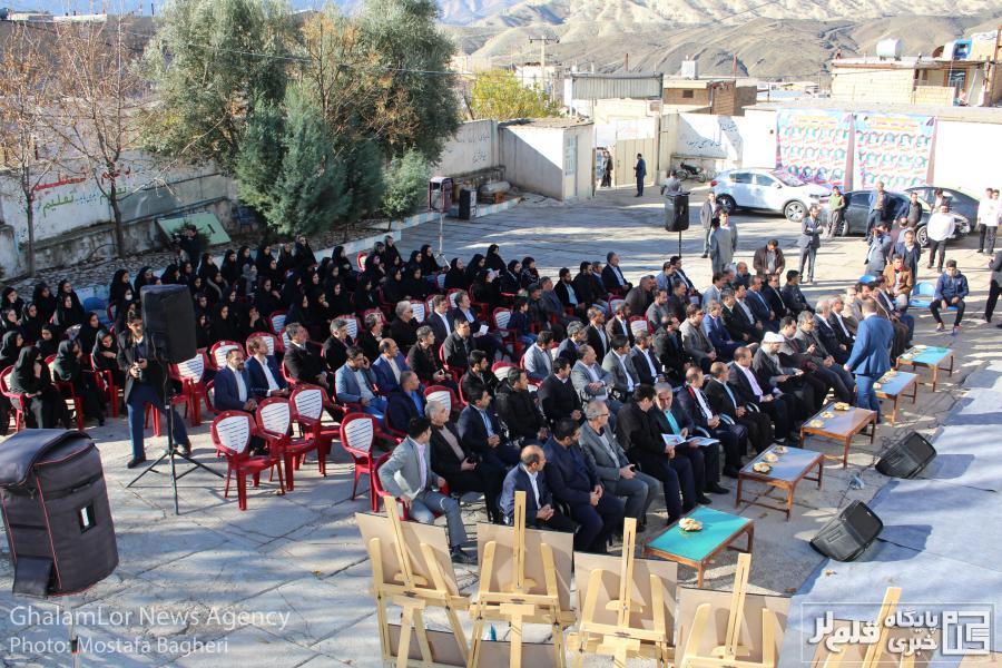 گزارش تصویری: احداث و افتتاح مدارس سیل زده معمولان توسط بانک دی
