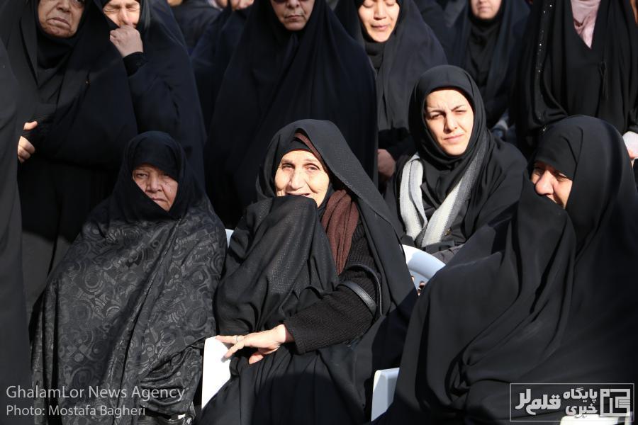 مراسم عزاداری به مناسبت شهادت سردارِ دلها / تصاویر