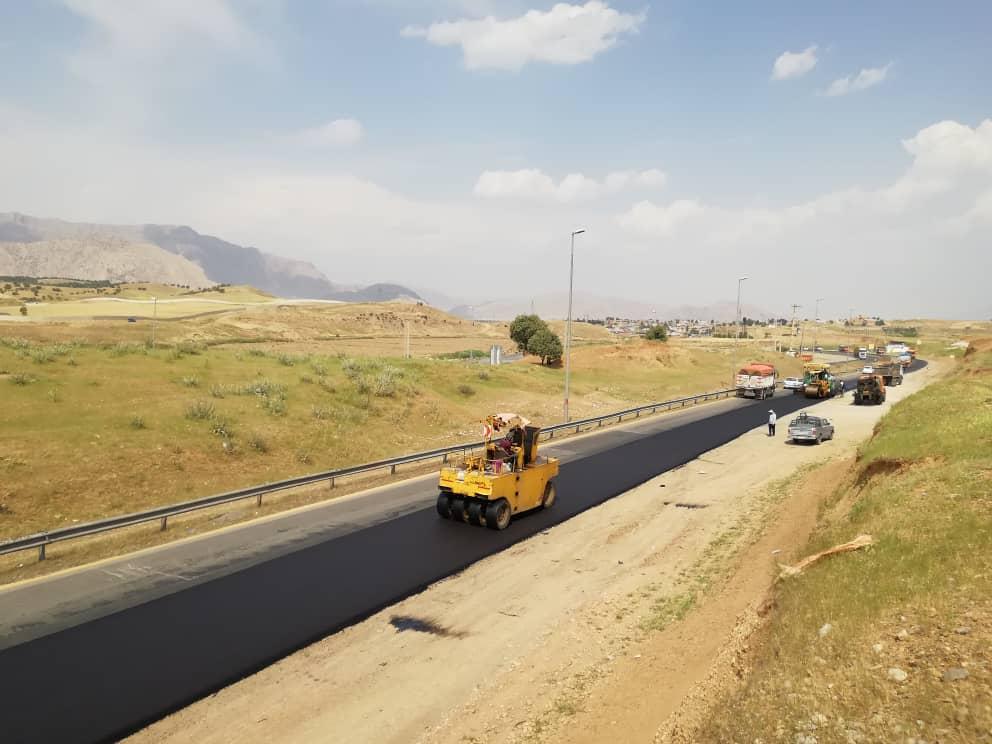 افتتاح ۱۱ کیلومتر از محور ازنا به شازند به همت راه و شهرسازی لرستان