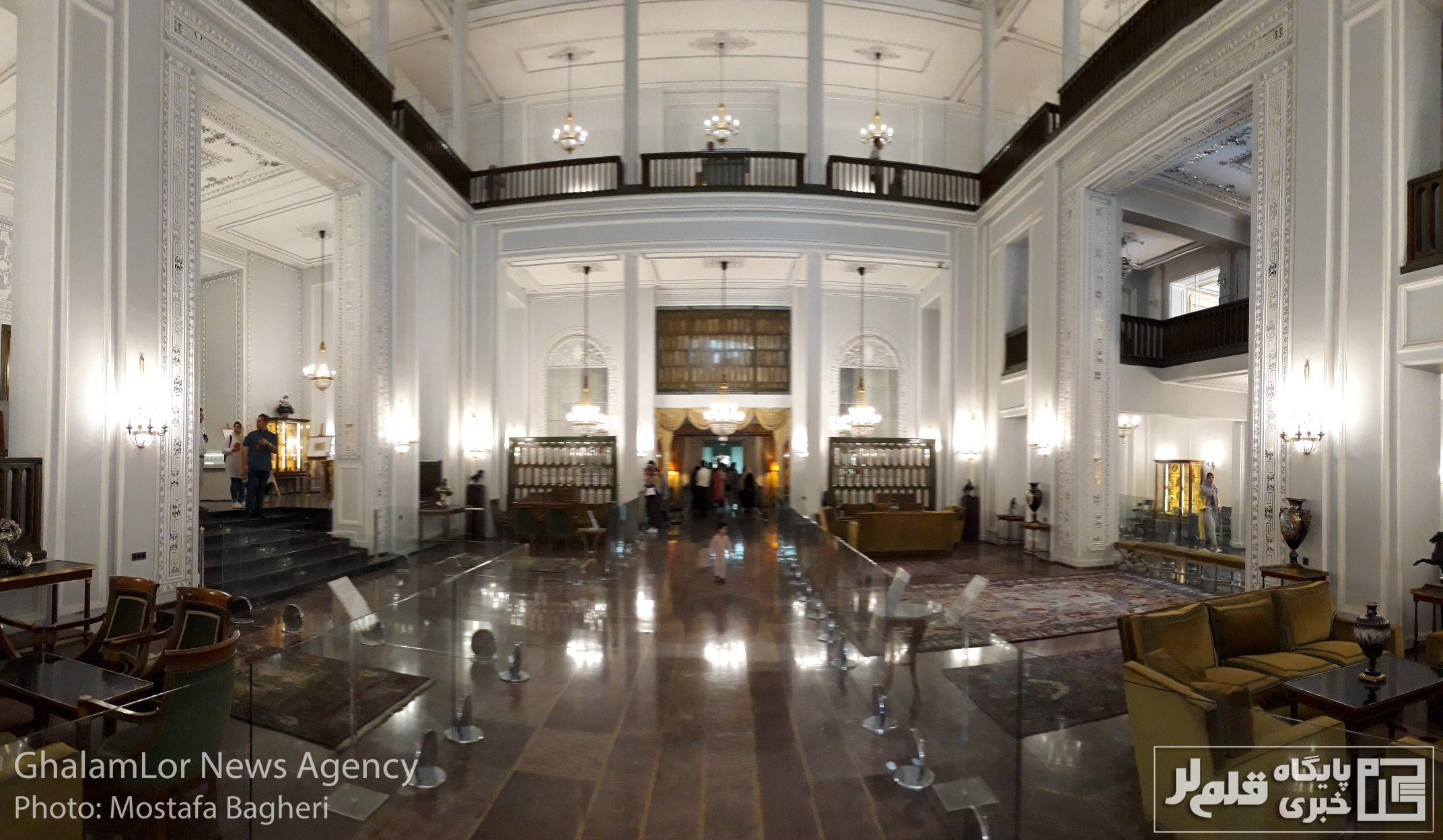 کاخ نیاوران به روایت تصویر