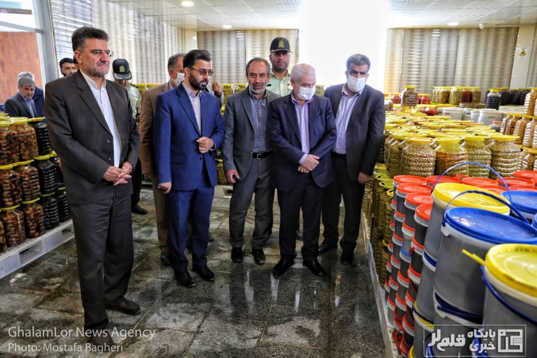 گزارش تصویری: افتتاح صنایع غذایی ترش و شیرین «نارین» در بروجرد