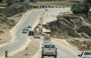 رئیس پلیس لرستان: وضعیت جاده خرم آباد – پلدختر همچنان خطرناک است
