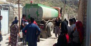 ۶۵ روستا در لرستان با تانکر آبرسانی میشوند