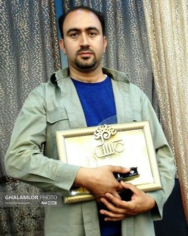 کسب مقام سوم عکاسی سیل توسط سعید سروش