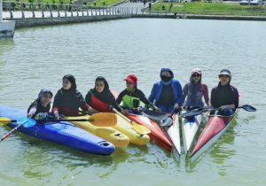 افتتاح سایت قایقرانی دریاچه شاپوری خرمآباد+ تصاویر