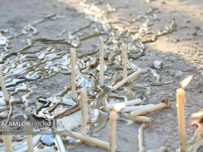 گزارش تصویری (۲) از مراسم چهل منبر خرمآباد