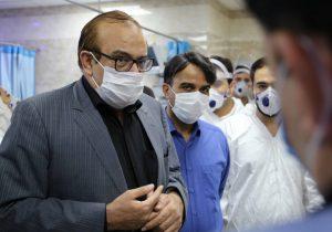 بازدید رئیس دانشگاه علوم پزشکی لرستان از بیمارستان شهید رحیمی