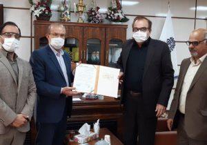 تقدیر موسسه سنستا و اتحادیه ملی کوچنشینان ایران از رئیس دانشگاه علوم پزشکی لرستان