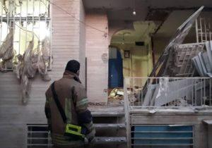 انفجار یک واحد مسکونی در روستای «سرنمک» خرمآباد