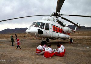 امداد رسانی هلال احمر در ارتفاعات «تنگ هفت»
