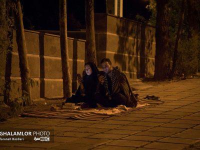 گزارش تصویری: برگزاری مراسم شب قدر در گلزار شهدای خرمآباد