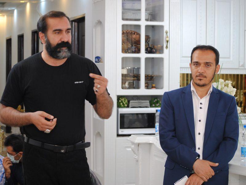 گزارش تصویری /  نشست خبری رضا بیرانوند نامزد ششمین دوره انتخابات شورای شهر خرم آباد